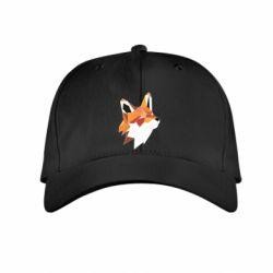 Дитяча кепка Fox Triangular Art