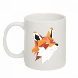 Купить Кружка 320ml Fox Triangular Art, FatLine