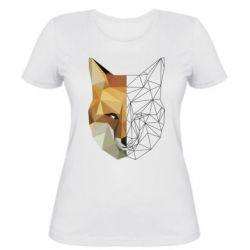 Жіноча футболка Fox Two Faces