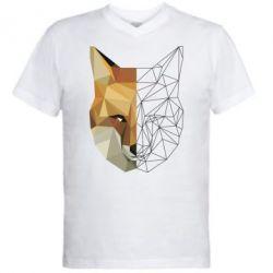 Чоловіча футболка з V-подібним вирізом Fox Two Faces