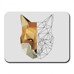 Килимок для миші Fox Two Faces