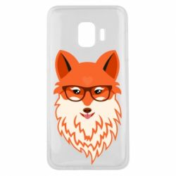 Чохол для Samsung J2 Core Fox with a mole in the form of a heart