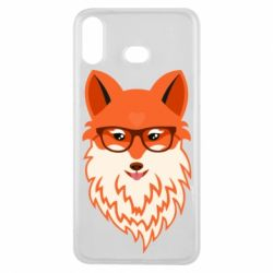 Чохол для Samsung A6s Fox with a mole in the form of a heart