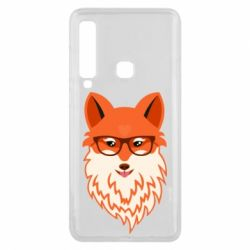 Чехол для Samsung A9 2018 Fox with a mole in the form of a heart