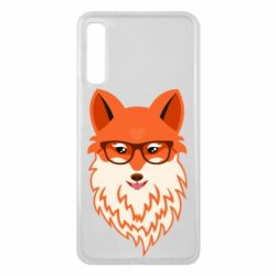 Чохол для Samsung A7 2018 Fox with a mole in the form of a heart