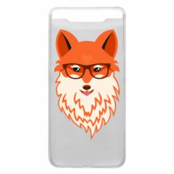 Чохол для Samsung A80 Fox with a mole in the form of a heart