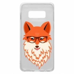 Чохол для Samsung S10e Fox with a mole in the form of a heart