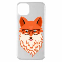 Чохол для iPhone 11 Pro Max Fox with a mole in the form of a heart