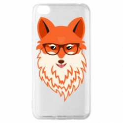 Чехол для Xiaomi Redmi Go Fox with a mole in the form of a heart