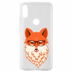 Чехол для Xiaomi Mi Play Fox with a mole in the form of a heart