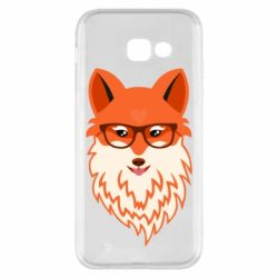 Чехол для Samsung A5 2017 Fox with a mole in the form of a heart