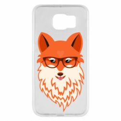 Чохол для Samsung S6 Fox with a mole in the form of a heart
