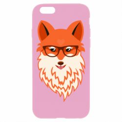 Чехол для iPhone 6 Plus/6S Plus Fox with a mole in the form of a heart