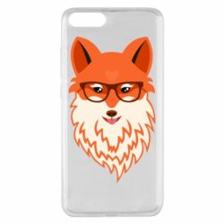 Чехол для Xiaomi Mi Note 3 Fox with a mole in the form of a heart