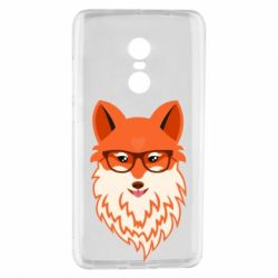 Чехол для Xiaomi Redmi Note 4 Fox with a mole in the form of a heart
