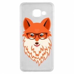 Чохол для Samsung A3 2016 Fox with a mole in the form of a heart