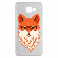 Чохол для Samsung A5 2016 Fox with a mole in the form of a heart