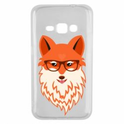 Чохол для Samsung J1 2016 Fox with a mole in the form of a heart