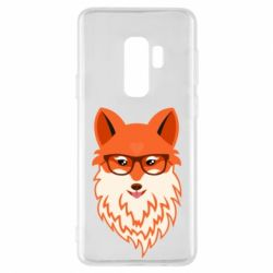 Чехол для Samsung S9+ Fox with a mole in the form of a heart