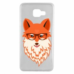 Чохол для Samsung A7 2016 Fox with a mole in the form of a heart