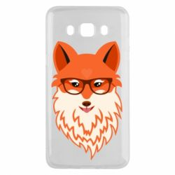 Чехол для Samsung J5 2016 Fox with a mole in the form of a heart
