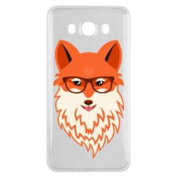 Чохол для Samsung J7 2016 Fox with a mole in the form of a heart