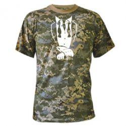 Камуфляжная футболка ФРАК - FatLine