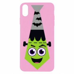 Чохол для iPhone Xs Max Frankenstein in the form of a tie