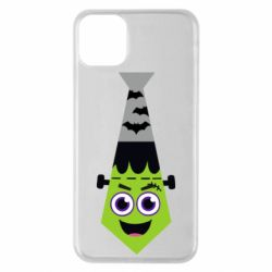 Чохол для iPhone 11 Pro Max Frankenstein in the form of a tie