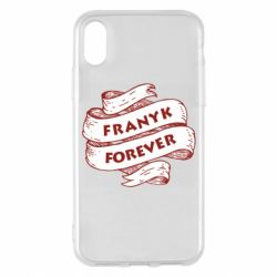 Чехол для iPhone X/Xs FRANYK forever