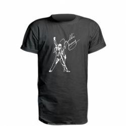 Подовжена футболка Freddie Mercury Queen