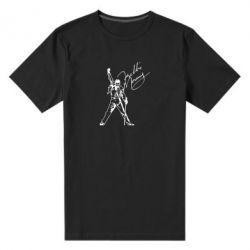 Чоловіча стрейчева футболка Freddie Mercury Queen