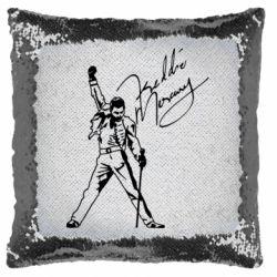 Подушка-хамелеон Freddie Mercury Queen