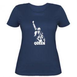 Женская футболка Freddie Mercury