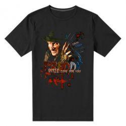 Купить Мужская стрейчевая футболка Freddy says Good night, FatLine
