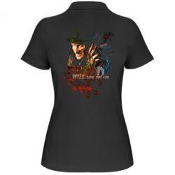 Купить Женская футболка поло Freddy says Good night, FatLine