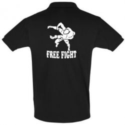 Футболка Поло Free Fight - FatLine