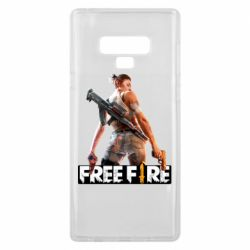 Чехол для Samsung Note 9 Free Fire