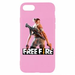 Чехол для iPhone 7 Free Fire