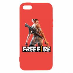 Чехол для iPhone5/5S/SE Free Fire
