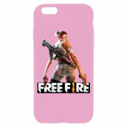 Чехол для iPhone 6/6S Free Fire