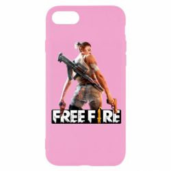 Чехол для iPhone 8 Free Fire