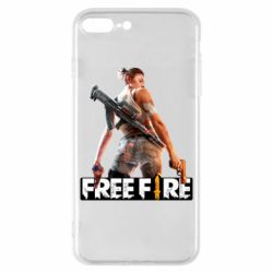 Чехол для iPhone 8 Plus Free Fire