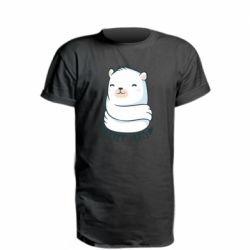 Подовжена футболка Free hugs bear