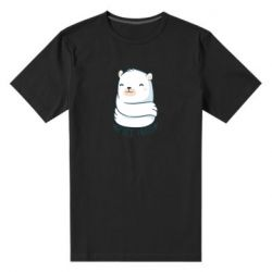 Чоловіча стрейчева футболка Free hugs bear