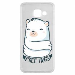 Чохол для Samsung A3 2016 Free hugs bear