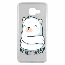 Чохол для Samsung A7 2016 Free hugs bear