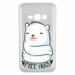 Чохол для Samsung J1 2016 Free hugs bear