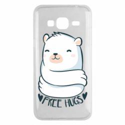 Чохол для Samsung J3 2016 Free hugs bear
