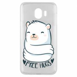 Чохол для Samsung J4 Free hugs bear